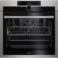 AEG BPE842720M Built In Single Oven Multifunction Pyro