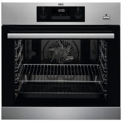 AEG BPS351220M Single Pyrolytic Steambake Electric Oven