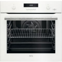 AEG BPS551020W Steambake Electric Oven
