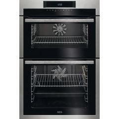 AEG DCE731110M Built In Touch Control Multifunction Double Oven With Catalytic Liners