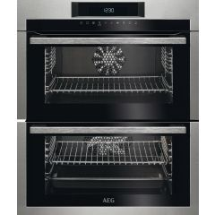 AEG DUE731110M Built Under Double Oven, Touch Control, Catalytic Liners