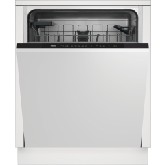 Beko DIN15C20 Integrated Dishwasher - Stainless Steel - E Energy Rated