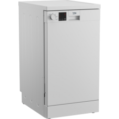 Beko DVS05C20W Slimline Dishwasher - White - E- Energy Rated
