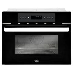 Belling 444410516 Bi45comw Blk 45Cm Built-In Combination Microwave Oven + Grill