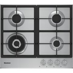 Blomberg GEN73415 60Cm Gas Hob With Cast Iron Pan Supports