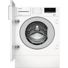 Blomberg LWI284410 8Kg 1400 Spin Built In Washing Machine - White - C Energy Rated