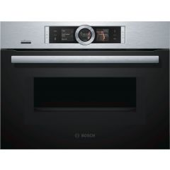 Bosch CMG676BS6B Compact Oven With Microwave ***** DISPLAY MODEL *****