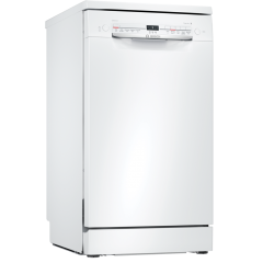 Bosch SPS2IKW04G Slimline Dishwasher - White - F Energy Rated
