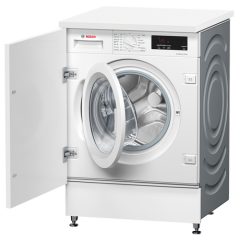 Bosch WIW28301GB Integrated 8Kg 1400 Spin Washing Machine - White - C Energy Rated
