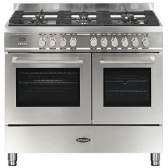 Britannia RC-10TG-QL-S 100Cm Twin Qline Modern Stainless Steel ***** DISPLAY MODEL *****
