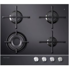 Fisher Paykel CG604DNGGB1 Gas On Glass Hob ***** DISPLAY MODEL *****