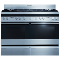 Fisher Paykel OR120DDWGX2 120Cm Double Oven Range Cooker