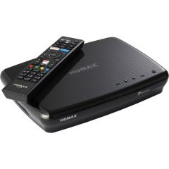 Humax FVP5000T500GBBL FVP5000T 500GB Digital Video Recorder - 500 GB HDD-Freeview-HD- Smart- Black