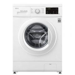 LG F4MT08WE 8Kg 1400 Spin Washing Machine - White - D Energy Rated