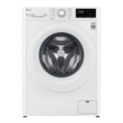 LG F4V308WNW 8Kg 1400 Spin Washing Machine - White - C Energy Rated