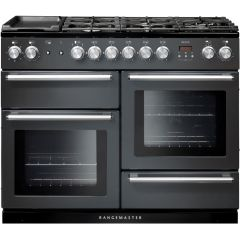 Rangemaster 106090 110Cm Nexus Dual Fuel Range Cooker In Slate Grey