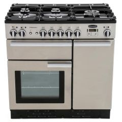 Rangemaster 84340 Professional Plus 90Cm Dual Fuel Stainless Steel