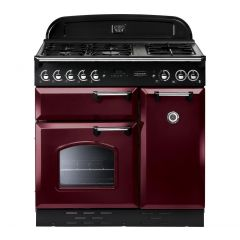 Rangemaster 85010 Classic 90 Fsd Gas Cranberry Chrome