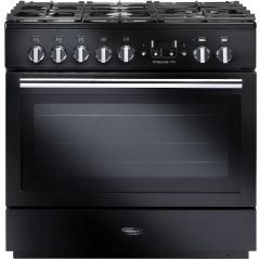 Rangemaster 91130 Professional Plus Fx 90 Dual Fuel Gloss Black