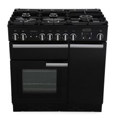 Rangemaster 91630 Professional Plus 90 Dual Fuel Black