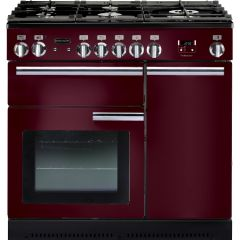 Rangemaster 91640 Professional Plus 90 Dual Fuel Cranberry