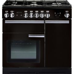 Rangemaster 91930 Professional Plus 90 Natural Gas Black