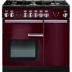 Rangemaster 91940 Professional Plus 90 Natural Gas Cranberry