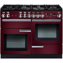 Rangemaster 91990 110Cm Professional Plus All Gas In Cranberry
