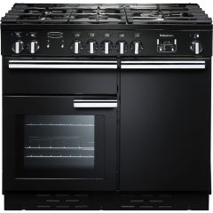 Rangemaster 92600 Professional Plus 100Cm Dual Fuel Black