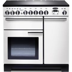 Rangemaster 98740 Professional Deluxe 90 Induction White (Display Model)
