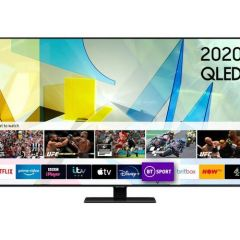 Samsung QE49Q80TATXXU 49` QLED Smart TV - B Energy Rated