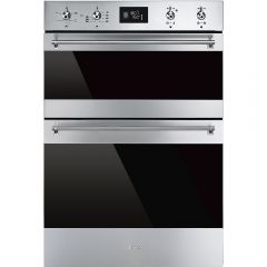 Smeg DOSF6390X Classic Multifunction Double Oven, Stainless Steel