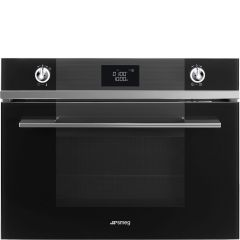 Smeg SF4102MCN* 45Cm Linea Combination Oven ***** DISPLAY MODEL *****