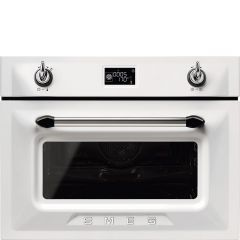 Smeg SF4920MCB1 Victoria` Traditional Compact Combination Microwave Oven