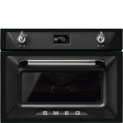 Smeg SF4920MCN1 Victoria` Traditional Compact Combination Microwave Oven