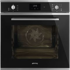 Smeg SF6400TVN `Cucina` Multifunction Oven, Black