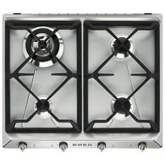 Smeg SR964XGH Victoria 60Cm Gas Hob With 4 Burners