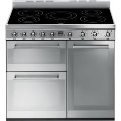 Smeg SY93I 90Cm Symphony 3 Cavity Induction Range Cooker