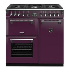 Stoves 444410258 Richmond Deluxe S900df Wild Berry