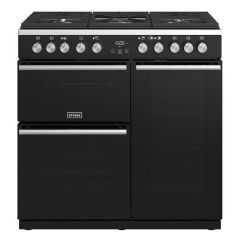 Stoves 444410743 Precision Deluxe S900 Dual Fuel Black